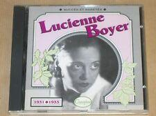 CD / LUCIENNE BOYER / 1931-1933 / SUCCES ET RARETES / EXCELLENT ETAT