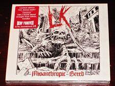 Lik: Misanthropic Breed - Limited Edition CD 2020 Bonus Track Metal Blade EU NEW