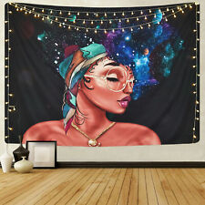 Colorful Art Loverly Women Print Tapestry Room Wall Hanging Psychedlic Tapestry