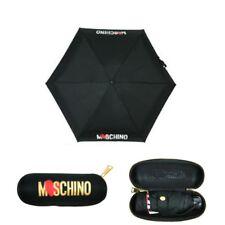 Moschino super mini piccolo Ombrello nero con custodia 8020 umbrella