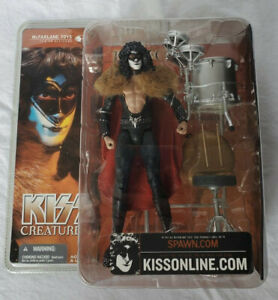 NEW Kiss Creatures Eric Carr The Fox McFarlane Toys 2002 Action Figure Sealed