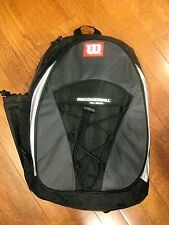 Wilson Triad Racquetball Backpack - Black