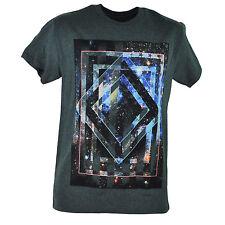 Tony Hawk Stars Galaxy American Flag Graphic Charcoal Adult Tshirt Tee