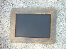 A4 Oiled Recycled Timber Chalkboard, Old Skool Retro Blackboard,