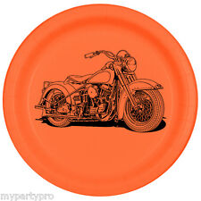 HAWG MOTORCYCLE Paper Dessert Plate Birthday Party supplies free shipping