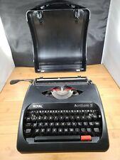 Royal Scrittore Ii Elite Manual Typewriter Black Good Condition Works