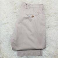 "GANT Beige Regular Straight Trousers Jeans cotton classic W36"" L32"" New Haven"