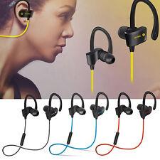 Sweatproof Wireless Headset Sport Stereo Headphone Earphone For iPhone Samsung