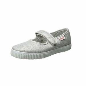 Cienta unisex-child Mary Jane Shoe, Silver, Size 3.0 3qxb