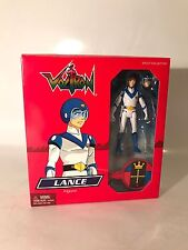 "Voltron Lance 3.75"" Blue Outfit Figure Red Lion 2011 Mattel Matty Collector Box"