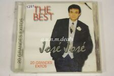 The Best - José José 20 Grandes Exitos - 2003 Music CD
