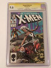 Uncanny X-Men #216~ CGC 9.6 ~ Chris Claremont Story ~ Stan Lee Signed! ~ 1987