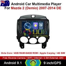 """9"""" Android 9.1 Octa Core Car Non DVD GPS For Mazda 2 (Demio) 2007-2014 DE"""