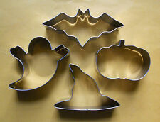 Halloween Baking Pastry Fondant Biscuit Stainless Steel Cookie Cutter 4pc/Set