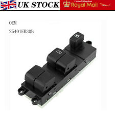 For Nissan Navara Qashqai Electric Window Switch 2005-2017 Swich 25401EB30B Set
