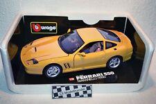 Ferrari 550 Maranello • 1996 • Bburago • 1:18 • Gelb