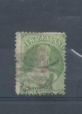 Nouvelle-Zélande timbres. 1 S la reine Victoria utilisé. peut-être SG125 CV £ 120. (Y555)