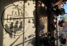 Farm Fresh Garden Produce Organic Vinyl Wall Decal