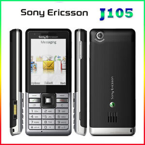 Original J105 Sony Ericsson j105i 3G keyboard 2MP Camera Bluetooth FM CellPhone
