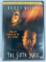 The Sixth Sense (DVD, Bruce Willis, Haley Joel Osment, M. Night Shyamalan, 2000)