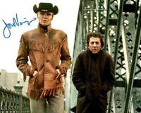 JON VOIGHT signed Autogramm 20x25cm MIDNIGHT COWBOY In Person autograph COA