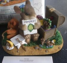 """Charming Tails """"A Treasure of Memories"""", Item 98/224 , Mint Condition"""