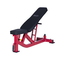 Soozier Adjustable 10-Position Home Fitness Weight Bench Incline Decline Workout