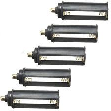 5pz AAA Adattatore Plastica Supporto Batteria Alloggiamento Cilindro Caso Tipo