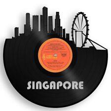 Singapore Vinyl Wall Art Cityscape Vintage Home Bedroom Decor Decorative Design