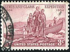 Lewis Clark Expedition Vintage Estampilla Usa impresión Cartel imagen bmp1084a