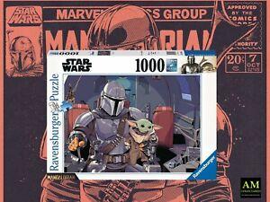 Ravensburger Puzzle - Star Wars - The Mandalorian Cartoon - Bebé Yoda 1000