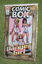 Comic Box Alpha Rare French Import w/ Danger Girl A Go Go Cover J Scott Campbell