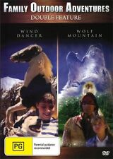 WIND DANCER AND WOLF MOUNTAIN - 2 GREAT MOVIES - NEW & SEALED DVD