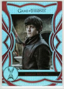 GAME OF THRONES THE COMPLETE SERIES THE CAST C65 INSERT RAMSAY BOLTON