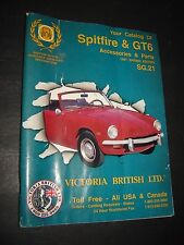 Catalog Of Accessories & Parts For Spitfire & GTS 1997 SPRING EDITION acceptable