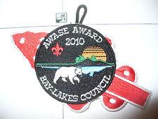 OA Awase Lodge 61,X-24, 2010 Award Patch,pp,156,194,233,244,501,635 Kon Wapos,WI