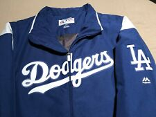 Los Angeles Dodgers Majestic On-Field Therma Base Authentic Jacket Size Small