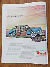 1948 Nash 600 Ad   A New Day Dawns