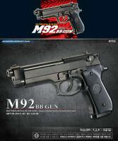 [Academy] #17212 Beretta M92 Plastic AirsoftPistol BB Replica ToyGun ⭐Tracking⭐
