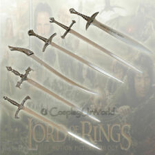 Lotr Lord of the Rings Letter Opener Fantasy Miniature Swords Blades Set of 6