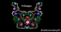 MACHINE EMBROIDERY DESIGNS - 11 ITEMS DESIGNS INCLUDED  - SPECIAL HUGE OFFER