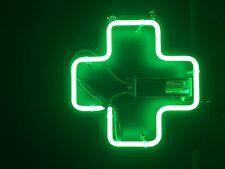 "Medical Cross Neon Sign 15"" wide  x   15"" high"