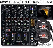 ALLEN AND HEATH XONE:DB4 DB4 DJ MIXER W FREE TRAVEL CASE & (2)25 foot XLR Cables