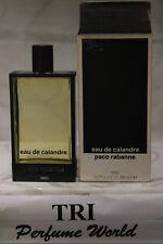Eau de Calandre by Paco Rabanne Eau de Toilette Women Splash * Dab-on 3.4 fl.oz.