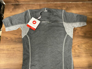 Castelli FLANDERS LS Long Sleeve Thermal Cycling Base Layer : Brand new with tag