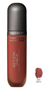REVLON Lip Gloss Ultra HD Matte Lip Mousse Hyper Matte 825 Spice 5.9ml