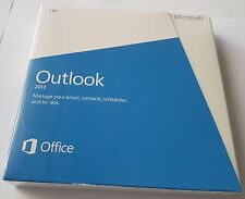 Microsoft Outlook 2013 Retail DVD Install PC 1 Use