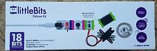 NEW SEALED! litteBits Deluxe Kit -18 bits Circuit combo little bits STEM STEAM