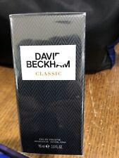 New David Beckham Classic Eau De Toilette 90ml Perfume