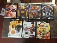 -Sony PlayStation 2 Games Misc Lot Of 7